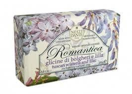 NESTI DANTE Tuscan Wisteria and Lilac Soap - MerryBath.com