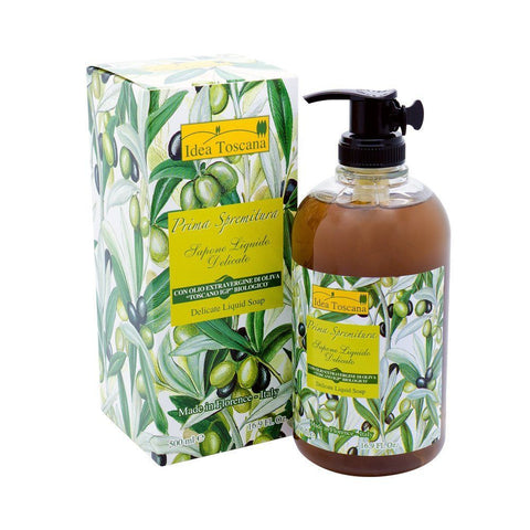 PRIMA SPREMITURA Delicate Liquid Soap with Organic Olive Oil - MerryBath
