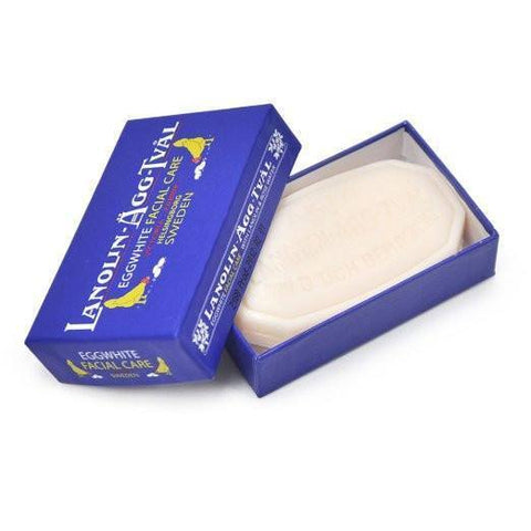 VICTORIA Swedish Lanolin Eggwhite Facial Soap - MerryBath