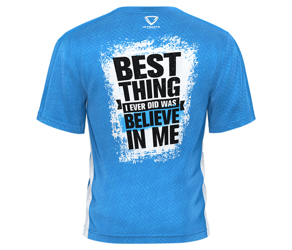 Believe Tee (Blue)