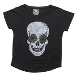 Skull Flower Tee - House of Legends Threads  - 1