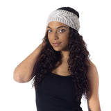 Oatmeal Wool Headband - House of Legends Threads  - 2