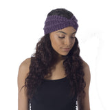 Purple Wool Headband - House of Legends Threads  - 2