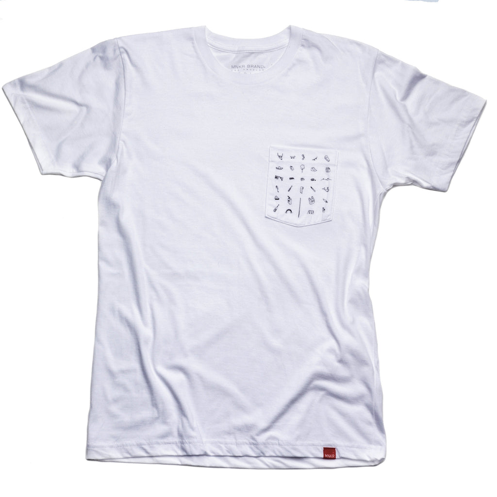 Life Story Pocket Tee - House of Legends Threads  - 1