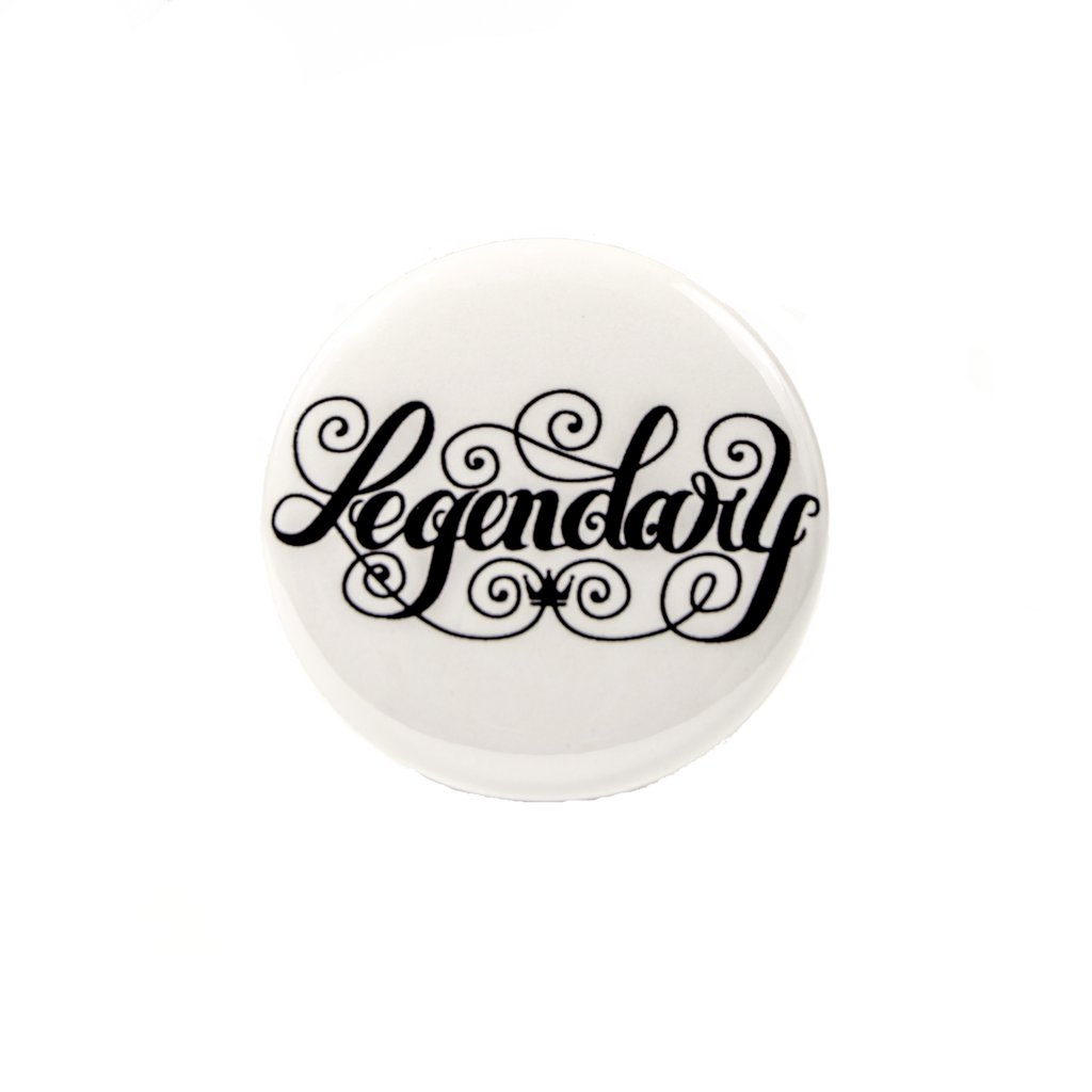 Legendary Button - House of Legends Threads
