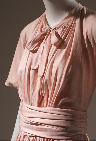 Madeleine Vionnet, 1932, pink silk faille. Source The Museum at FIT (Fashion Institute of Technology)