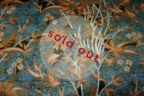 Blue Batik Garden - Sold Out