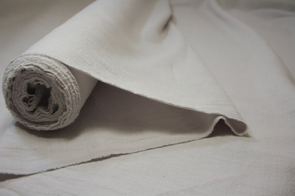 Chalk Pebble - Stone Washed Linen