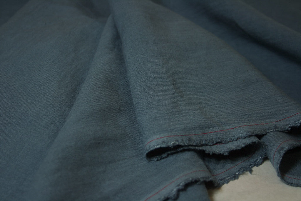 Denim Blue - Linen