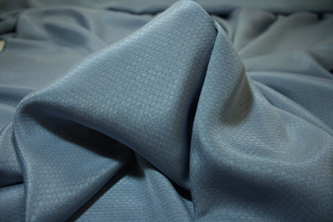 Dusty Blue - Silk/Cotton