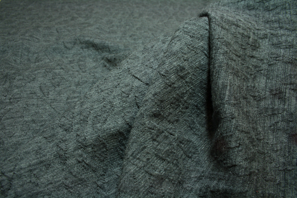 Grey Marle - Wool Cotton Jersey