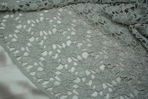 Tracery - Oyster Guipure Lace