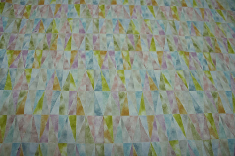 Triangles for Diamonds - Japanese Cotton