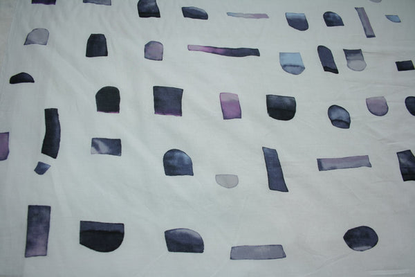 Watercolour Shapes - Japanese Cotton