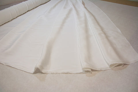 White -  Pure Silk Faille
