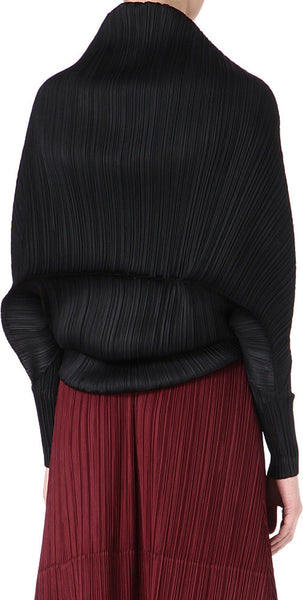 Pleated Parisienne Coral