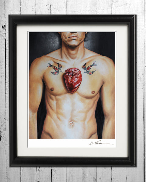 Love Hurts / Signed Print