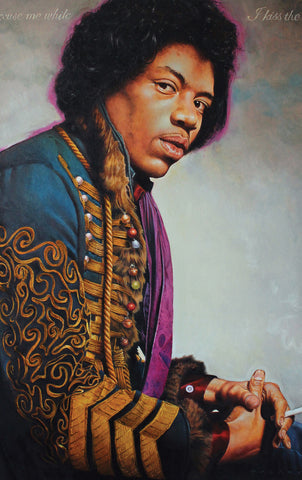 Purple Haze / Signed Print