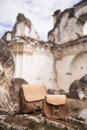 El Encanto Backpack/Shoulder Bag - Camel
