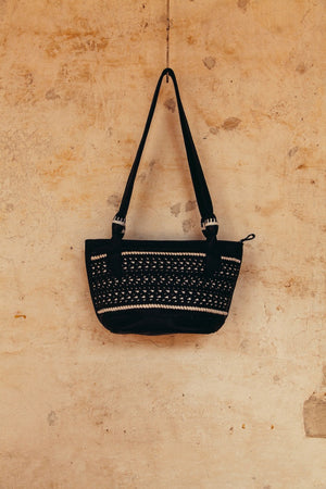 Frida Shoulder Bag/mini tote - black