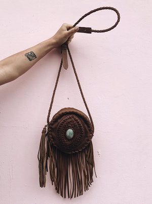 El Ojo Sagrado Fringe Canteen - multiple colors
