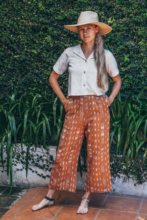 Paloma Pants - Rust