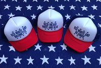 BLONDE, BRUNETTE & RED HEAD Trucker Hat