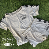 City Roots in Boots Star Women's Lounge Shorts