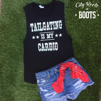 Tailgating is My Cardio Women's Tank