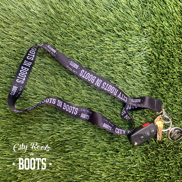 City Roots in Boots Lanyard