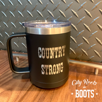 Country Strong Insulated Coffee Mug