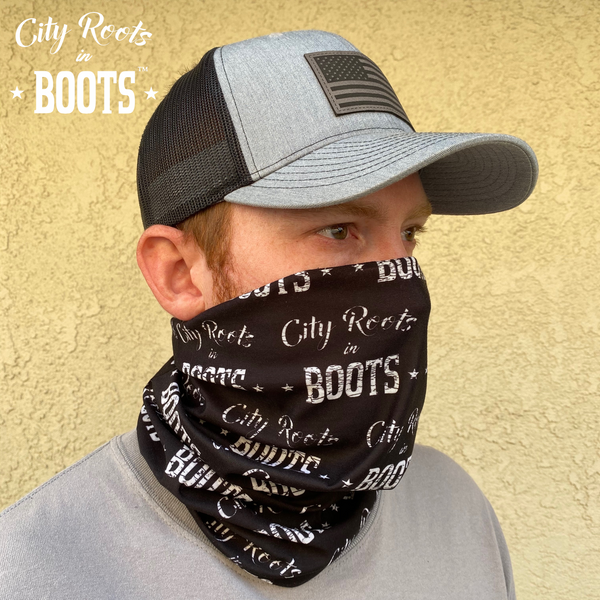 City Roots in Boots Hoo-Rag
