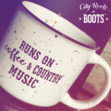 Runs on Coffee & Country Music Mug