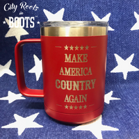 Make America COUNTRY Again Insulated Coffee Mug