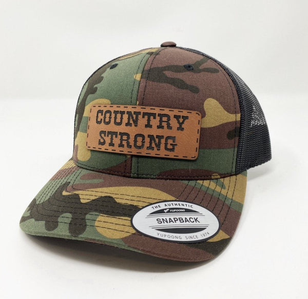 Country Strong Camo Hat