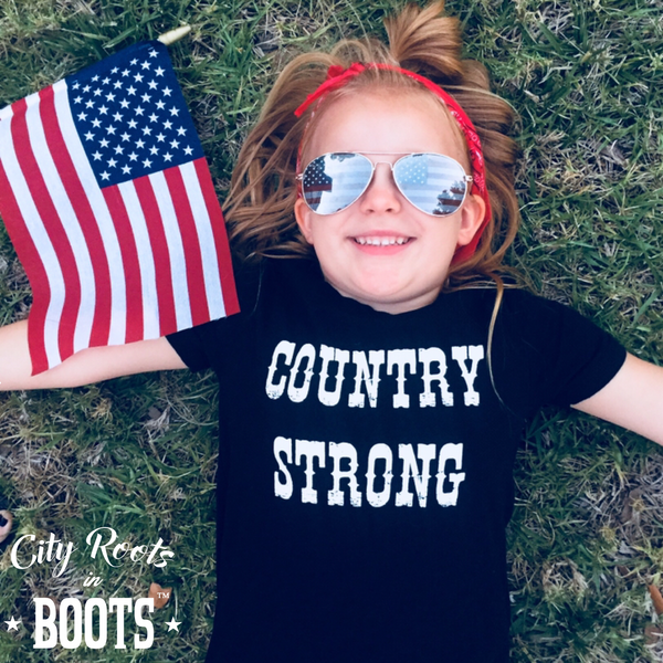 """COUNTRY STRONG"" Toddler/Youth Tee"
