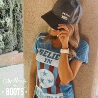 City Roots in Boots Dad Hat