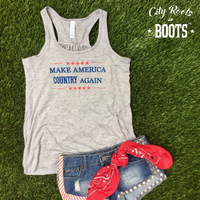 Make America Country Again Women's Tank