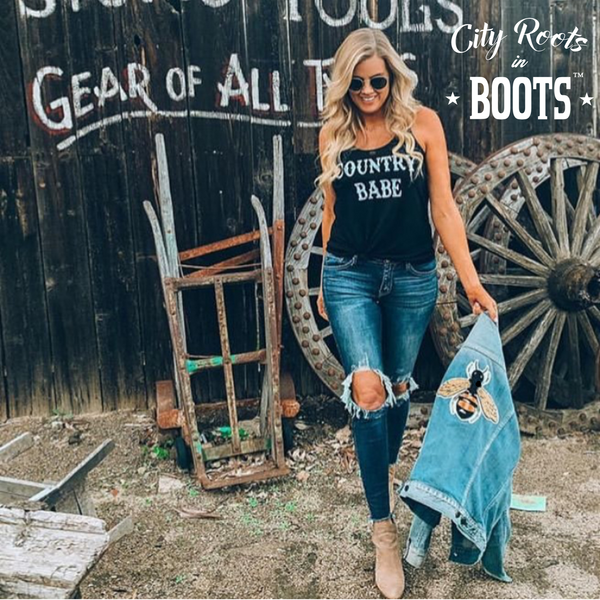 """COUNTRY BABE"" Women's Tank"
