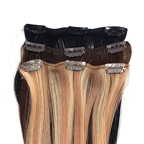 "Quik Extends 12"" Clip-in Hair Extensions"