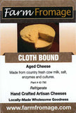 Farm Fromage Clothbound (8oz)