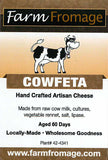 Farm Fromage Cowfeta (8oz)