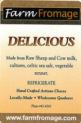 Raw Cow and Sheep Milk Blend