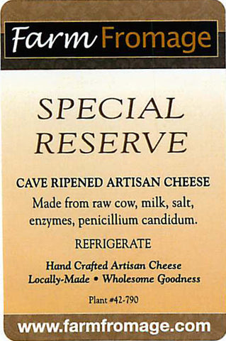 Farm Fromage Special Reserve (8oz)