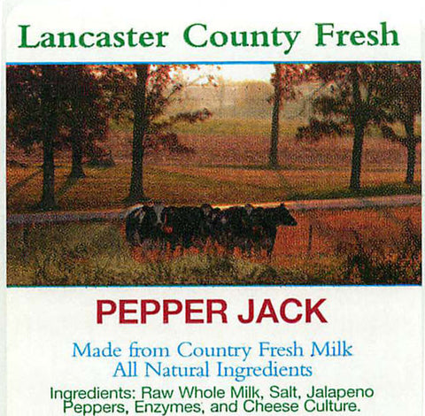 Lancaster Pepper Jack (8oz)
