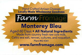 Farm Fromage Monterey Blue (8oz)