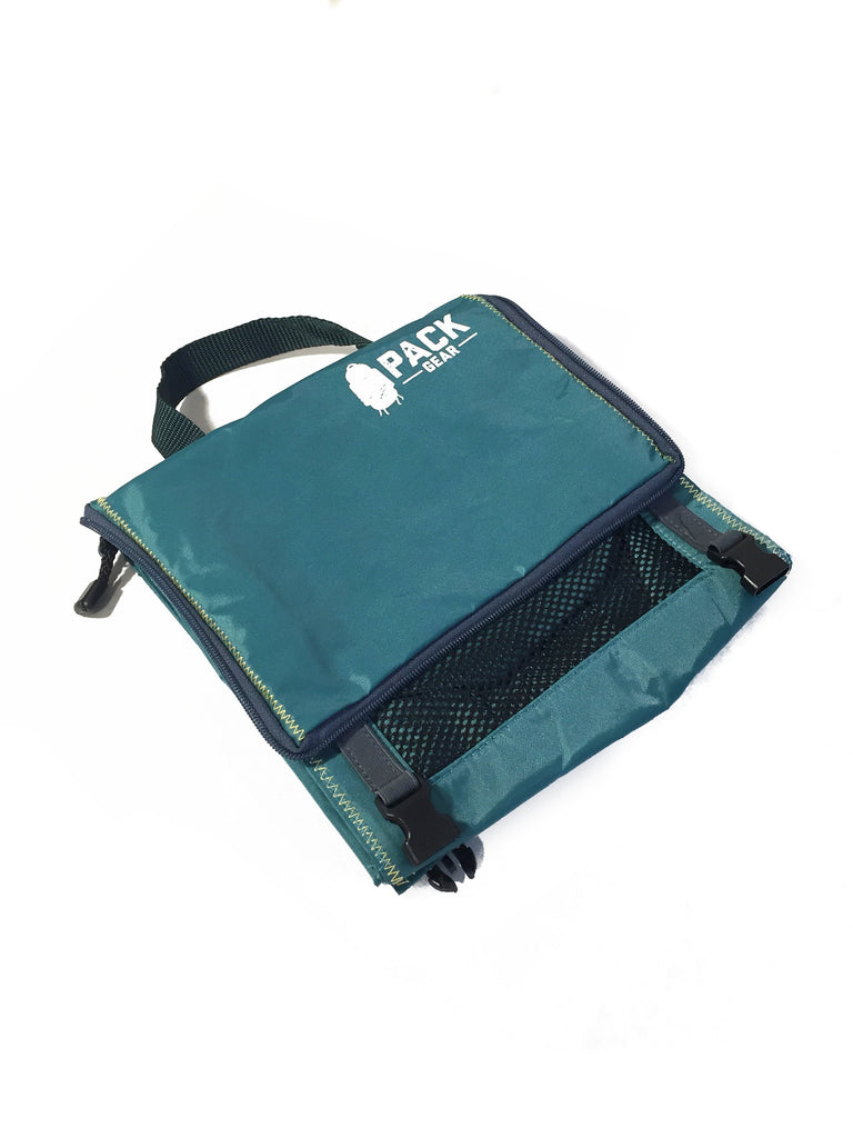 """The Grab and Go"" - PACK Gear Backpack Organizer With Clips (Teal) - PACK Gear  - 4"