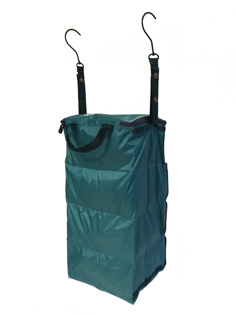 """The Carry-On Traveler"" - PACK Gear Backpack Organizer With Zippers (Teal) - PACK Gear  - 6"