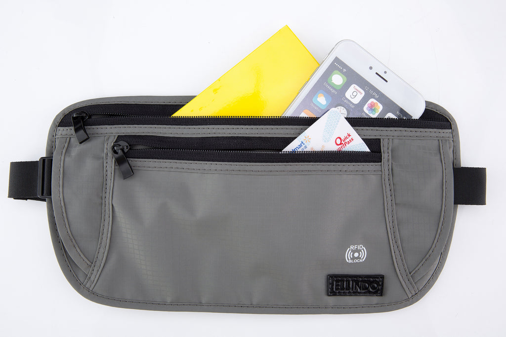RFID Blocking Travel Money Belt