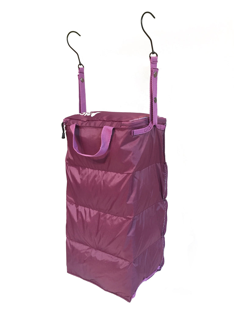 """The Carry-On Traveler"" - PACK Gear Backpack Organizer With Zippers (Purple) - PACK Gear  - 6"